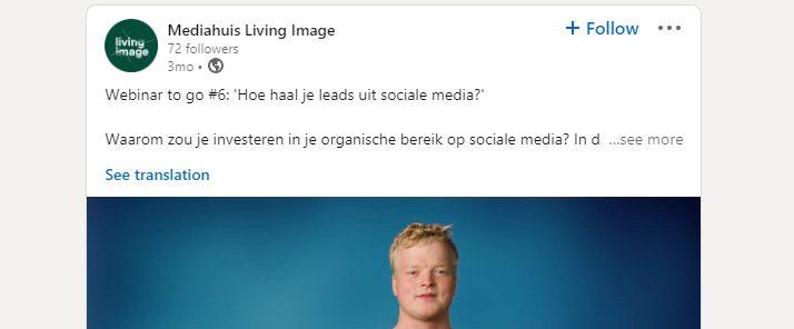 Sociale Media - Webinars to Go
